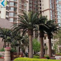 Buy cheap Various Size Artificial Palm Trees For Hotel Pool Amusement Park Decoration product