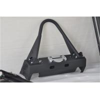 Buy cheap Aluminum / Steel Jeep Wrangler Front Bumper With Black Powder Coated Steel product