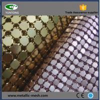 Buy cheap Fashionable metal sequin fabric for decor and design product