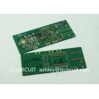 Buy cheap Six Layer BGA IC Immersion Gold Pcb Gold Plating White Legend PAD product