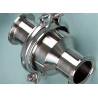 Buy cheap 1 1/2 Stainless Steel Sanitary Check Valves Connection Butt Welded TP316L product
