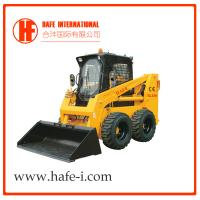 Buy cheap 75HP Single Speed  skid steer loader SL100 With E3 engine multiple attachments Bobcat product