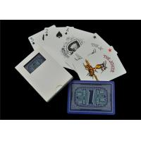 Quality Matte Linen Finish Casino Playing Cards , Full Color Custom Design Playing Cards for sale