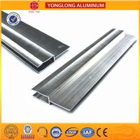 Buy cheap Silver / Champagne Anodized Aluminum Extrusion Profiles For Industrial product