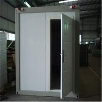 Buy cheap PU Sandwich Panel Consisted Prefab Modular Container Homes Prefab Container Homes product