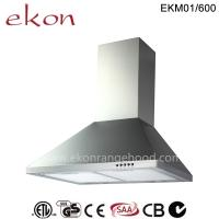 Buy cheap CE CB SAA GS Approved 60cm Wall Mount Stainless Steel Kitchen Chimney Range Hood product
