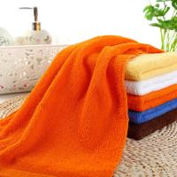 Buy cheap 14''*30'' 100g Cotton Soft Face Towel Hand Towel High Quality Towel Home Pure Color Towel product