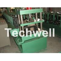 Buy cheap GCr15 Steel Roller, High Speed Shelf Roll Forming Machine For 1.8 - 2.3mm Material product