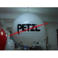 Quality 0.4mm Fireproof PVC Advertising Helium Balloons With Digital Printing For Trade Show for sale