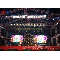 Buy cheap Bolt Lightweight Aluminium Alloy Truss System Sliver / Black Coor 300*300mm Size from wholesalers