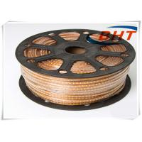 Buy cheap High Power 220V Led Strip Led Strip Lights Warm White100m/ Reel With Power Cord product