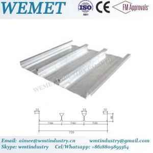 Buy cheap Steel floor deck for steel structure building WMT 66-240-720 product