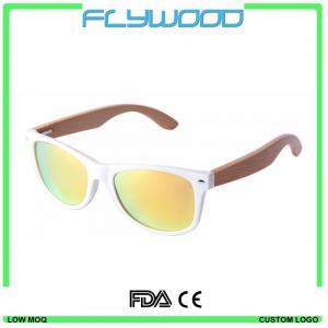 China 2016 OEM bamboo wood arms sunglasses 2016 cheap wholesale sunglasses China custom logo crystal sunglasses wholesale