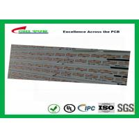 Buy cheap Aluminum Base LED Lighting PCB Green Lead free HASL 700x15 MM product
