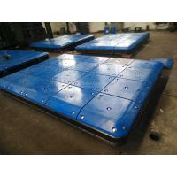 Quality Marine Fendering System Impingement Plate With PE Face Pads , Marine Panels for sale