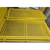 Buy cheap Durable Powder Coated Steel Wire Fencing Panels With Frame Finishing product
