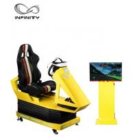 Buy cheap Interactive 9D VR Car Racing Simulator For Adult / Children  1 Year Warranty product