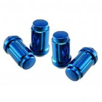 Buy cheap 20x Subaru Blue Chrome Spline Lug Nuts 12x1.25 Fits Legacy Impreza WRX Sti FR-S from wholesalers