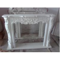 Buy cheap Hand Carved Indoor Simple Stone Fireplace product