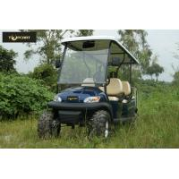 Buy cheap Dynamic Type 6 Seater Golf Cart Big Round Smooth Driving Safety for Mountain Pass product