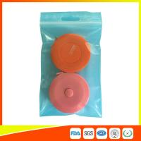Buy cheap Reusable Zip Lock Bags Vacuum Seal With Hanging Hole For Sample Packing product