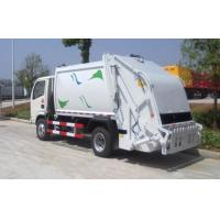 Buy cheap Big Loading Capacity Solid Waste Management Trucks With Collection Box product