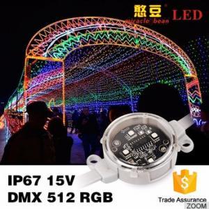 Buy cheap Outdoor 40mm 50mm SMD3535 DMX Digital RGB Led Pixel IP67 Waterproof from wholesalers