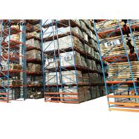 Buy cheap Intensive Very Narrow Aisle Racking Stainless Steel Q235B Robot Welding product