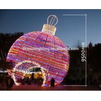 giant outdoor christmas lights led big ball 3d motif light product details