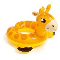 Buy cheap Cartoon Animal Baby Swimming Ring , Swimming Pool Inner Tubes 0.25mm Thickness product