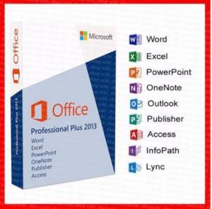 Buy cheap Office 2013 Professional Key Card 32 Bit / 64 Bit DVD retailbox office 2013 pro plus key product