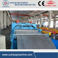 5 Tons Hydraulic Uncoiler Cable Tray Roll Forming Machine 5 - 6m / min