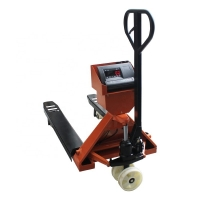 Buy cheap 12E Indicator 1/2/3T Narrow Fork Pallet Jack Scale Hand Pallet Truck with Polyurethane wheel product