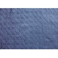 Buy cheap Professional Blue Ramie Material Jacquard Upholstery Fabric product
