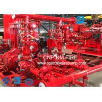 Buy cheap Centrifugal Skid Mounted Fire Pump Single Stage For Pipelines Bureaus product
