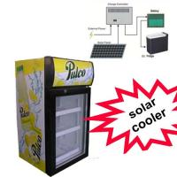 Buy cheap SC-36DS Talbe Top Wine Cooler 36L 0-10C Mini Solar Cooler Display Showcase product