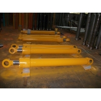 Buy cheap 707-01-XY891 PC750, PC750SE, PC800 arm cylinder LH komatsu loader spare parts from wholesalers