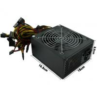 Buy cheap Black Desktop Computer Power Supply 150 * 165 * 85mm With12months Warranty product