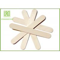 Buy cheap Ice Wooden Sticks Lolly Pop Sticks 114mm Natural Wooden Sticks product