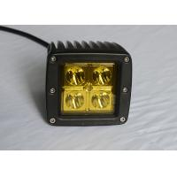 "Buy cheap Yellow Lens Pods Vehicle LED Work Lights 2 x 2 3"" 16W For Marine / Jeep / Offroad product"