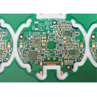 Buy cheap FR-4 HDI PCB Printed Circuit Boards 6 Layers Green Soldermask 1.6MM Board Thickness product
