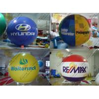 Buy cheap 2.5m Thickness PVC Large Inflatable Balloons Fire Resistance For Outdoor Decorations product