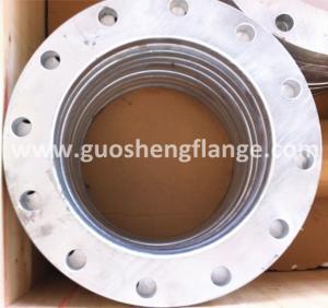 Galvanized plate flange
