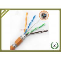 Buy cheap High Frequency Network Fiber Cable 250MHz Orange Color With Pure Copper Material product