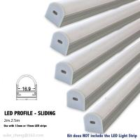 Buy cheap aluminum led profile/sliding profile for strip product