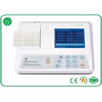 Manual / Auto Modes 3 Channel ECG Machine With USB / RS232 Interface