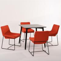 Buy cheap Long Life Kitchen & Dining Solid Wood Center Table & Chairs For Small Spaces product