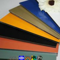 Buy cheap B1 certificate fireproof acp aluminum plastic composite panel product