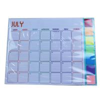 China Monthly Year 2021 80gsm Children Calendar on sale