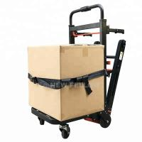 China Electric Pull Truck Tool Car Stair Climbing Trolley With Lithium Battery on sale